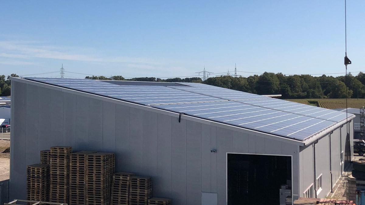 Für 70 % solaren Eigenverbrauch.